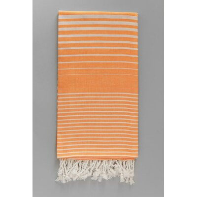 Illusion Bath Towel Color: Orange