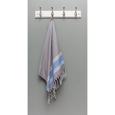 Myndos Hand Towel Color: Gray