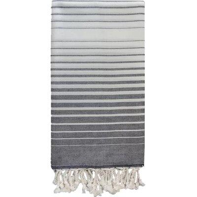 Illusion Bath Towel Color: Navy