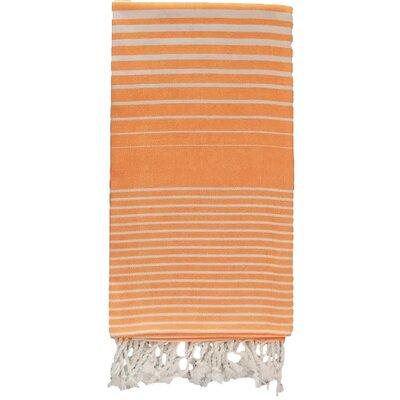 Illusion Bath Towel Color: Orange