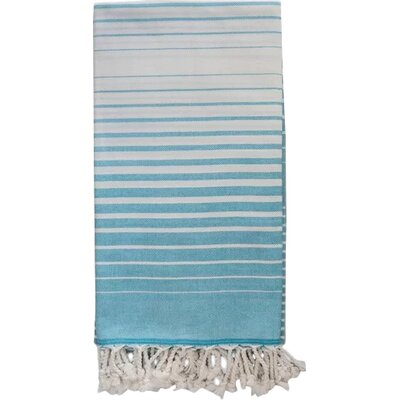Illusion Bath Towel Color: Turquoise