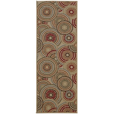 Anne Multi-Coloured Area Rug Rug Size: Runner 23 x 6