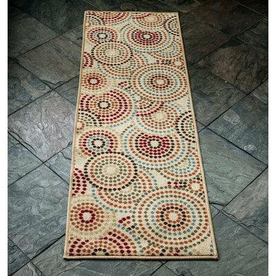 Anne Multi-Coloured Area Rug Rug Size: Runner 27 x 910