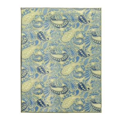 Avalon Green/Teal Area Rug Rug Size: 33 x 5
