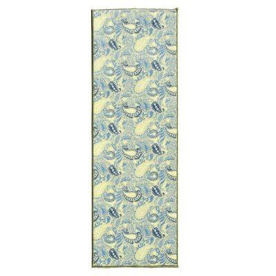 Avalon Green/Teal Area Rug Rug Size: Runner 18 x 411