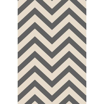 Anne Chevron Ivory/Gray Area Rug
