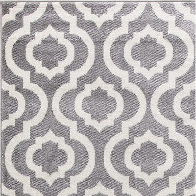 Howard Gray Area Rug Rug Size: Runner 27 x 91