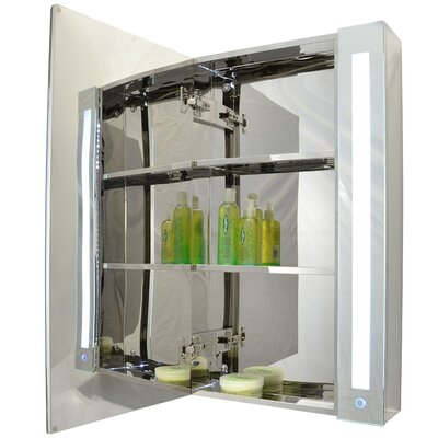 24 x 32 Surface Mount Medicine Cabinet with LED Lighting
