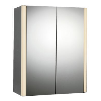 27 x 33 Surface Mount Medicine Cabinet with LED Lighting