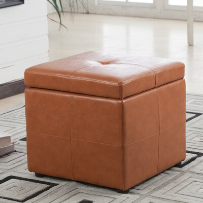 Contemporary Classic Storage Ottoman