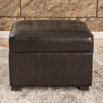 Elegant Storage Ottoman Upholstery: Brown