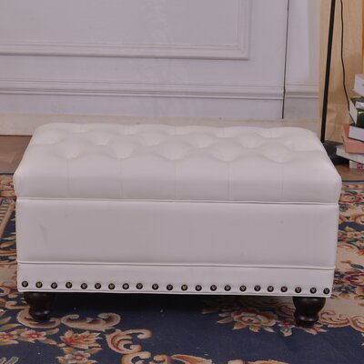 Luxury Comfort Classic Tufted Storage Ottoman