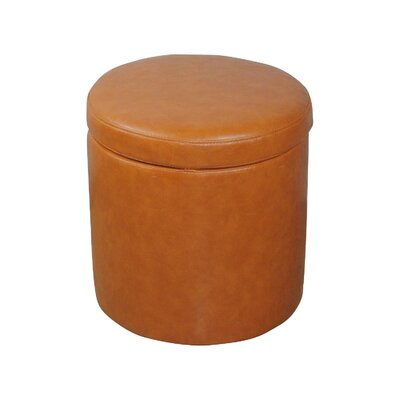 Classic Round Storage Ottoman