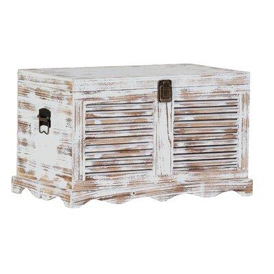 Sitztruhe Attic | Küche und Esszimmer > Sitzbänke > Sitztruhen | White | Metall - Holz - Tanne | WerkStadt
