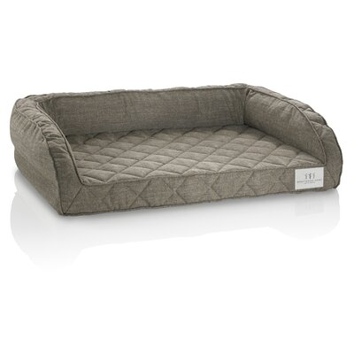 Orthopedic Gel Memory Foam Pet Bed Size: Small (22 L x 18 W), Color: Sand Stone