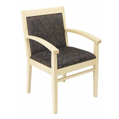 Tea Guest Chair Seat Color: Cocoa, Finish: Natural