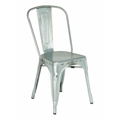 Side Chair Color: Galvanized