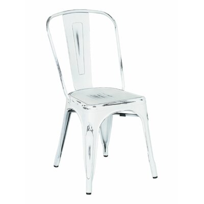 Side Chair Color: White Wash