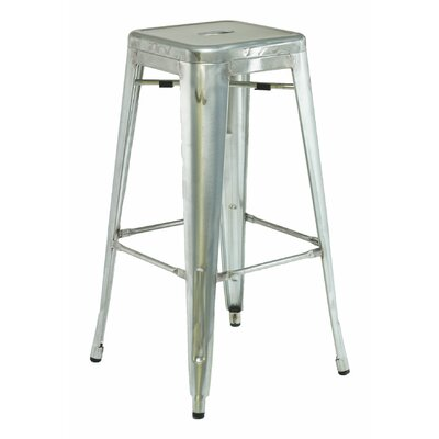 30 Bar Stool Color: Galvanized