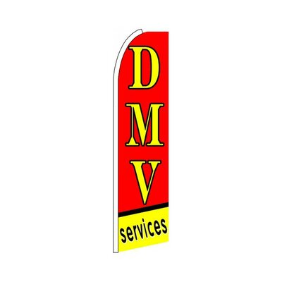 DMV Services Swooper Flag SW10416