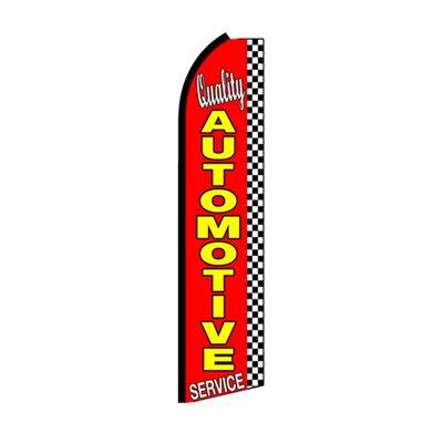 Quality Automotive Service Swooper Flag SW10576