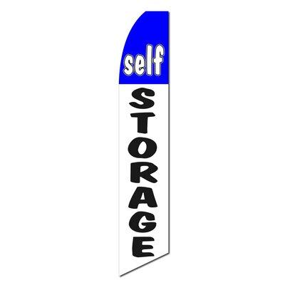 Self Storage Swooper Flag SWF-048