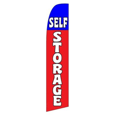 Self Storage Swooper Flag SW170