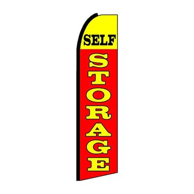 Self Storage Swooper Flag SW10168