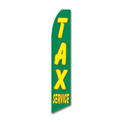 Tax Service Swooper Flag SWFN-1064