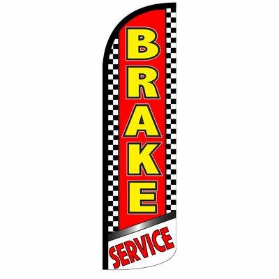 Brake Service Swooper Flag SW10953