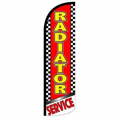 Radiator Service Swooper Flag SW10944