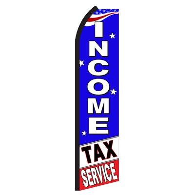 Income Tax Service USA Swooper Flag SW11259