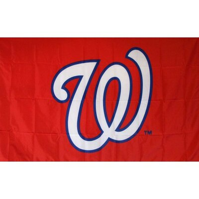 Washington Nationals Logo Only Flag F-1914