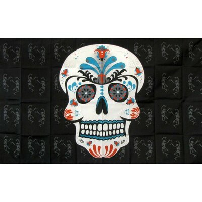 Sugar Skull Traditional Flag F-1688