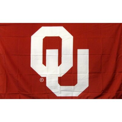 Oklahoma Sooners Polyester 3 x 5 ft. Flag F-1816