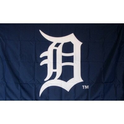 Detroit Tigers Logo Only Traditional Flag F-1909