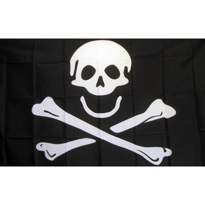 Pirate Jolly Roger Poison010 Traditional Flag F-2402