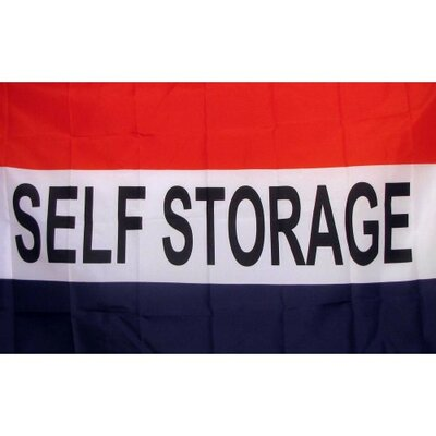 Self Storage Traditional Flag F-2495