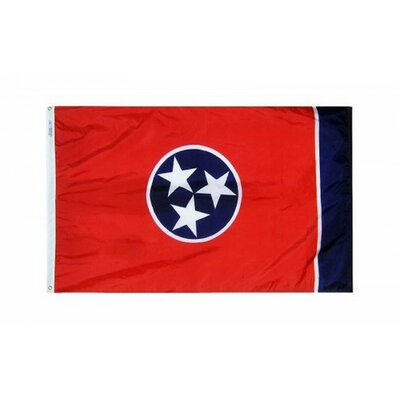 Tennessee State 3x5 Banner Flag Made In The Usa F-2547