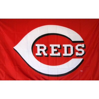 Cincinnati Reds Logo Only Flag F-1917