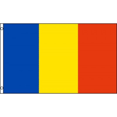 Romania Country Traditional Flag F-2822