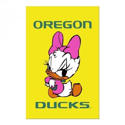 Oregon Ducks Garden Flag F-8010