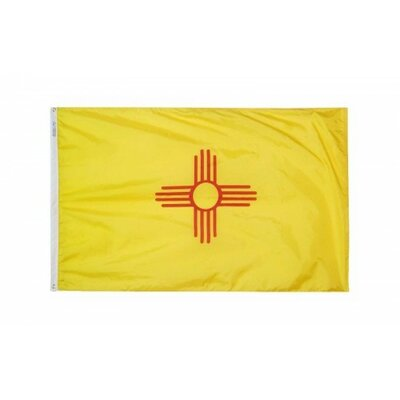 New Mexico Glo Traditional Flag F-2360