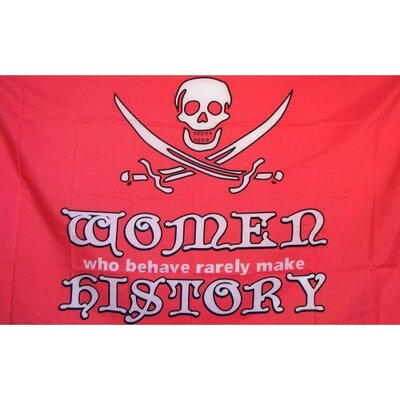 Pirate Women Traditional Flag F-2412