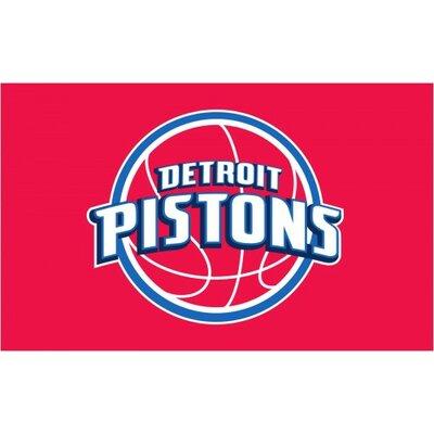 NBA Detroit Pistons Traditional Flag F-2693
