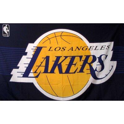 NBA Flag NBA Team: Los Angeles Lakers F-1014