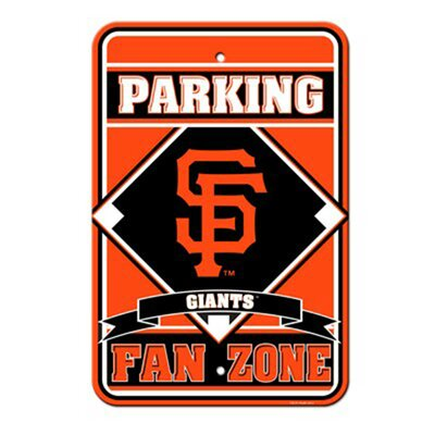 MLB Parking Sign MLB: San Francisco Giants