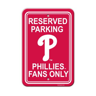 MLB Parking Sign MLB: Philadelphia Phillies
