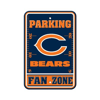 NFL Parking Sign NFL: Chicago Bears K92201=