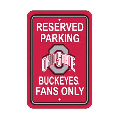 NCAA Parking Sign NCAA: Ohio State Buckeyes